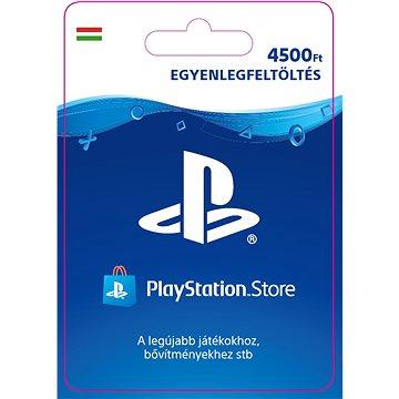 PlayStation Store - Kredit 4500Ft - PS4 HU Digital (SCEE-HU-00450000)