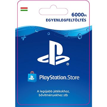 PlayStation Store - Kredit 6000Ft - HU Digital (SCEE-HU-00600000)