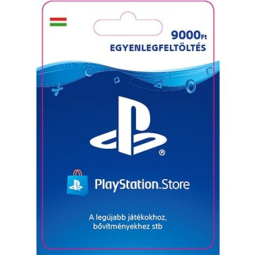 PlayStation Store - Kredit 9000Ft - HU Digital (SCEE-HU-00900000)