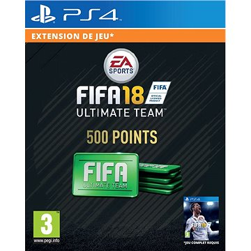 500 FIFA 18 Points Pack - HU Digital (SCEE-XX-S0033263)