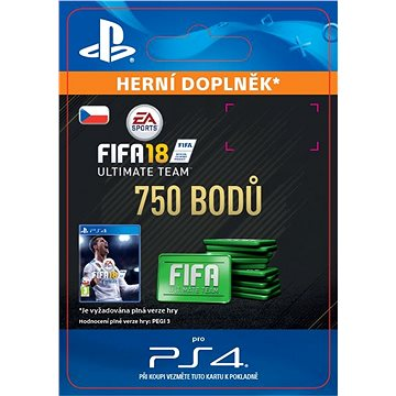 750 FIFA 18 Points Pack - HU Digital (SCEE-XX-S0033223)
