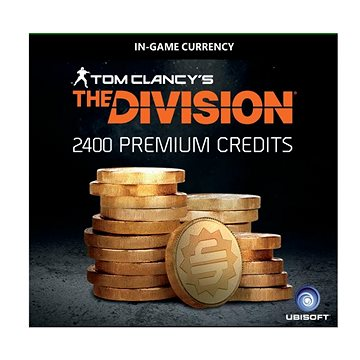 Tom Clancy's The Division – 2400 Premium Credits Pack - HU Digital (SCEE-XX-S0030221)