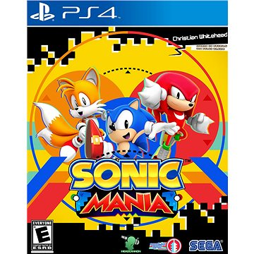 Sonic Mania - PS4 HU Digital (SCEE-XX-S0032215)