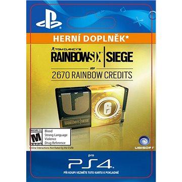 Rainbow Six Siege – 2670 Credits Pack - HU Digital (SCEE-XX-S0031472)