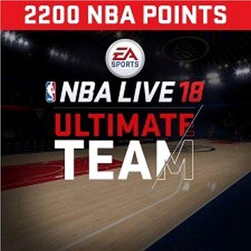 NBA Live 18 Ultimate Team - 2200 NBA points - PS4 HU Digital (SCEE-XX-S0034366)