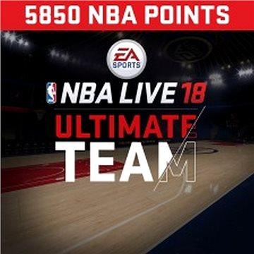 NBA Live 18 Ultimate Team - 5850 NBA points - PS4 HU Digital (SCEE-XX-S0034290)