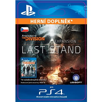 Tom Clancys The Division Last Stand - Season Pass - PS4 SK Digital (SCEE-XX-S0030004)