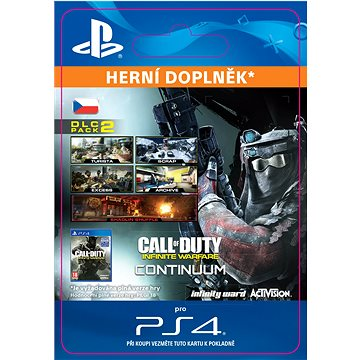 Call of Duty: Infinite Warfare - DLC 2: Continuum - PS4 SK Digital (SCEE-XX-S0030777)