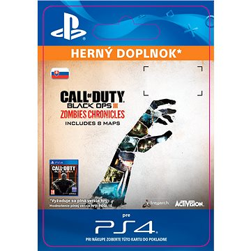 Call of Duty Black Ops III: Zombies Chronicles - PS4 SK Digital (SCEE-XX-S0031058)