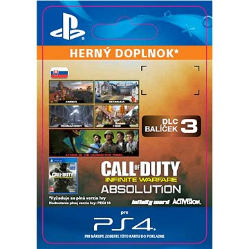 Call of Duty: Infinite Warfare - DLC 3: Absolution - PS4 SK Digital (SCEE-XX-S0031681)