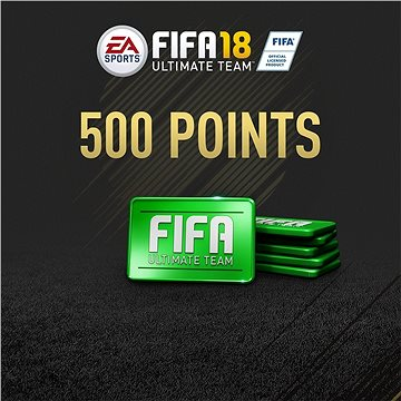 500 FIFA 18 Points Pack - PS4 SK Digital (SCEE-XX-S0033280)