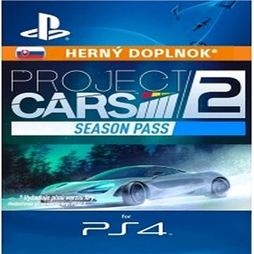Project CARS 2 Season Pass - PS4 SK Digital (SCEE-XX-S0033588)