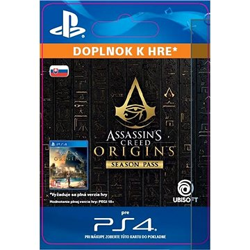 Assassins Creed Origins - Season Pass - PS4 SK Digital (SCEE-XX-S0034120)