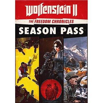 Wolfenstein II: The Freedom Chronicles - Season Pass - PS4 SK Digital (SCEE-XX-S0034647)