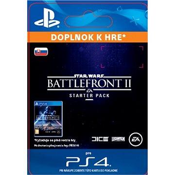 STAR WARS Battlefront II Starter Pack - PS4 SK Digital (SCEE-XX-S0034847)