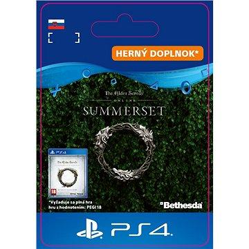 The Elder Scrolls Online: Summerset Upgrade - PS4 SK Digital (SCEE-XX-S0038243)