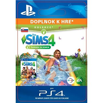 The Sims 4 Backyard Stuff - PS4 SK Digital (SCEE-XX-S0037985)
