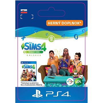 The Sims 4 Domácí kino - PS4 SK Digital (SCEE-XX-S0043260)
