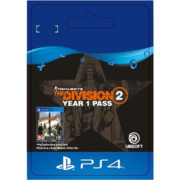 Tom Clancys The Division 2 - Year 1 Pass - PS4 SK Digital (SCEE-XX-S0043858)