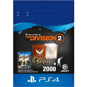 Tom Clancys The Division 2 - Welcome Pack - PS4 SK Digital (SCEE-XX-S0044033)