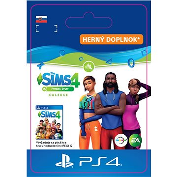 The Sims 4 Fitness - PS4 SK Digital (SCEE-XX-S0044310)