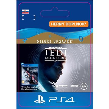 STAR WARS Jedi: Fallen Order Deluxe Upgrade - PS4 SK Digital (SCEE-XX-S0047458)