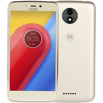 Motorola Moto C Plus (2GB) Gold (PA800124CZ) + ZDARMA Mobilní internet Twist Online Internet s kreditem 200 Kč Digitální předplatné Interview - SK - Roční od ALZY Digitální předplatné Týden - roční