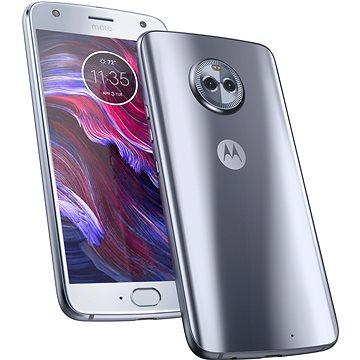 Motorola Moto X4 Sterling Blue (PA8X0007CZ) + ZDARMA Bezpečnostní software Kaspersky Internet Security pro Android pro 1 mobil nebo tablet na 6 měsíců (elektronická licence) Digitální předplatné Interview - SK - Roční od ALZY