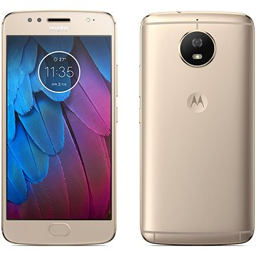 Motorola Moto G5s Blush Gold (PA7W0014CZ) + ZDARMA Mobilní internet Twist Online Internet s kreditem 200 Kč Digitální předplatné Interview - SK - Roční od ALZY