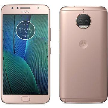 Motorola Moto G5s Plus Blush Gold (PA6V0099CZ) + ZDARMA Mobilní internet Twist Online Internet s kreditem 200 Kč Digitální předplatné Interview - SK - Roční od ALZY