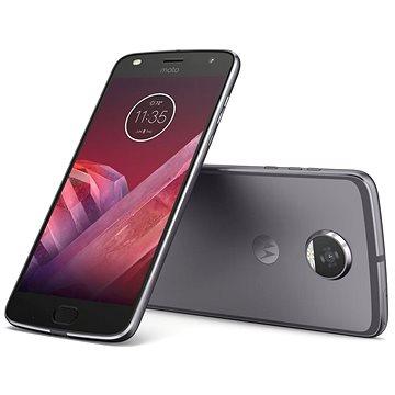 Motorola Moto Z2 Play Lunar Grey (SM4483AC3N7 ) + ZDARMA Mobilní internet Twist Online Internet s kreditem 200 Kč Digitální předplatné Interview - SK - Roční od ALZY