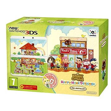 Nintendo NEW 3DS Animal Crossing HHD + Card Set (NI3H97018)