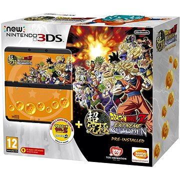 Nintendo NEW 3DS Black + DragonBall Z: Extreme Butoden + SNES DragonBall Z: Extreme Butoden 2 + Face (045496503727)