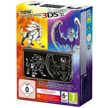 Nintendo NEW 3DS XL Solgaleo and Lunala Limited edition (NI3H97131)