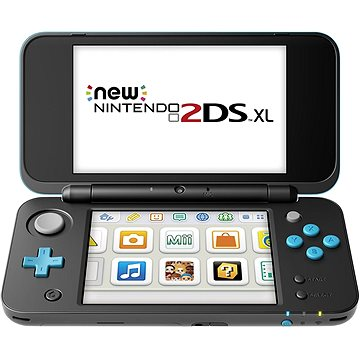 New Nintendo 2DS XL Black & Turquoise (NI3H97210)