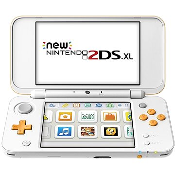 New Nintendo 2DS XL White & Orange (NI3H97212)