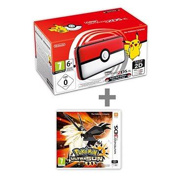 Nintendo NEW 2DS XL Pokéball Edition + Pokémon Ultra Sun