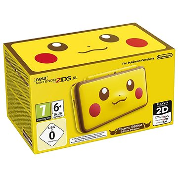Nintendo NEW 2DS XL Pikachu Edition (045496504700)