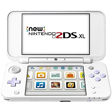Nintendo NEW 2DS XL White & Levander Green + Tomodachi Life (NI3H97260)