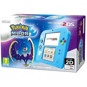 Nintendo 2DS Pokémon Ed. + Pokémon Moon pre-instal (NI3H9412)