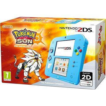 Nintendo 2DS Pokémon Ed. + Pokémon Sun pre-install (NI3H9410)