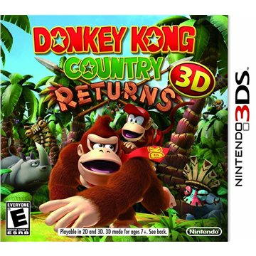 Donkey Kong Country Returns 3D - Nintendo 3DS (045496523619)