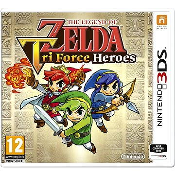 The Legend of Zelda: Tri Force Heroes - Nintendo 3DS (045496528423)