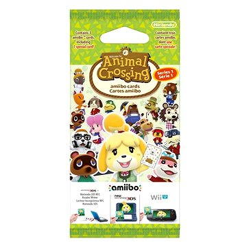 Animal Crossing: Happy Home Designer Card 3set - Nintendo 3DS (NI3S016)