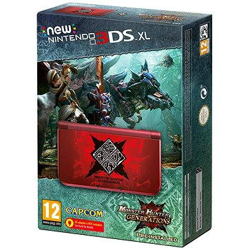 Nintendo New 3DS XL Monster Hunter Generations Edition Bundle
