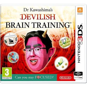 Dr. Kawashimas Devilish Brain Training - Nintendo 3DS (NI3S150)