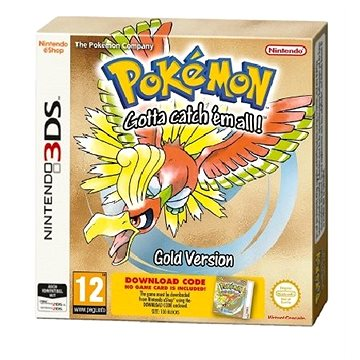 Pokémon Gold DCC - Nintendo 3DS (045496475925)