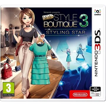 New Style Boutique 3 - Styling Star - Nintendo 3DS (045496476649)