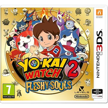YO-KAI WATCH 2: Fleshy Souls - Nintendo 3DS (045496474690)