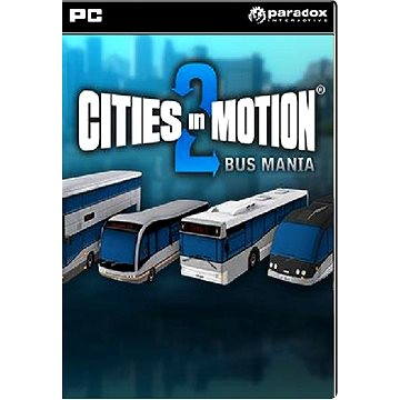 Cities in Motion 2: Bus Mania DLC (251309)